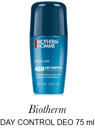 BIOTHERM HOMME DAY CONTROL ROLL ON DEODORANT 75 ML