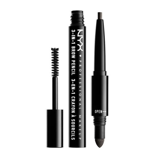 NYX Professional Makeup 3 in 1 Brow 31B10 Black