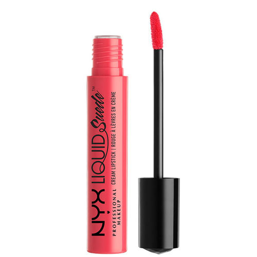 NYX Professional Makeup Liquid Suede Cream Lipstick 4 ml Life´S A Beach