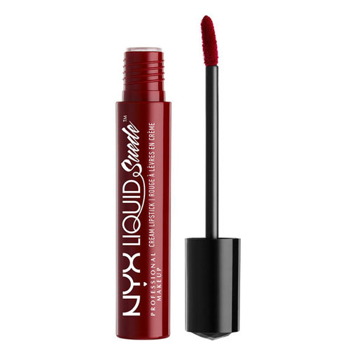 NYX Professional Makeup Liquid Suede Cream Lipstick LSCL03 Cherry Skies