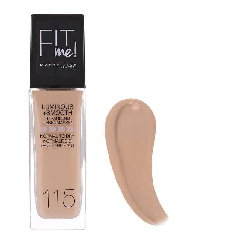 Maybelline Fit Me Luminous And Smooth Foundation Ivory 115 30 ml