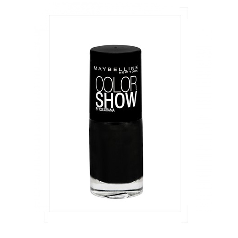 Maybelline Color Show Nail Polish Blackout 677 7 ml