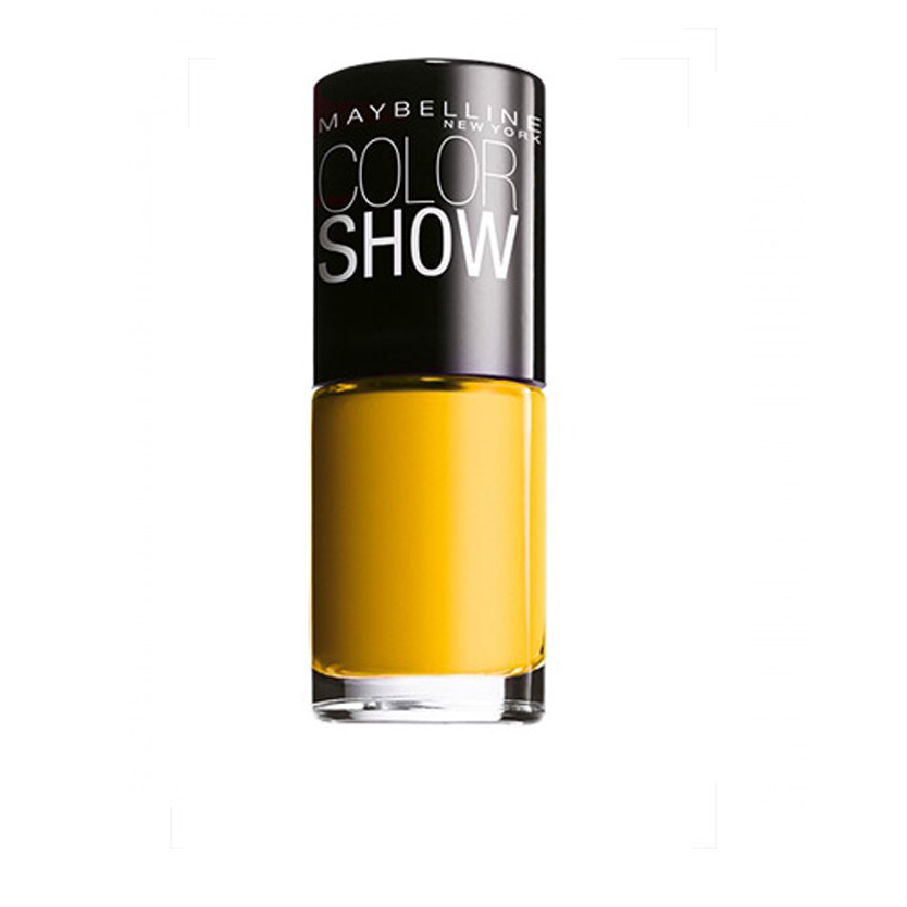 Maybelline Color Show Nail Polish Electric Yellow 749 7 ml