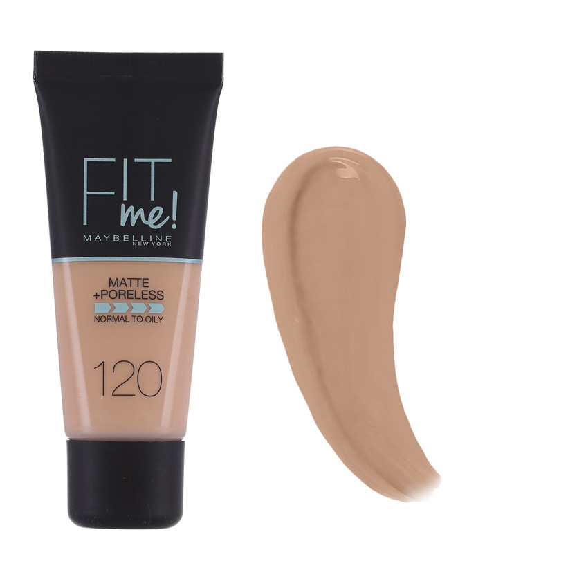 Maybelline Fit Me Matte And Poreless Foundation Classic Ivory 120 30 ml
