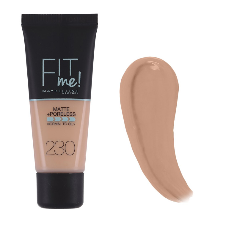 Maybelline Fit Me Matte And Poreless Foundation Natural Buff 230 30 ml