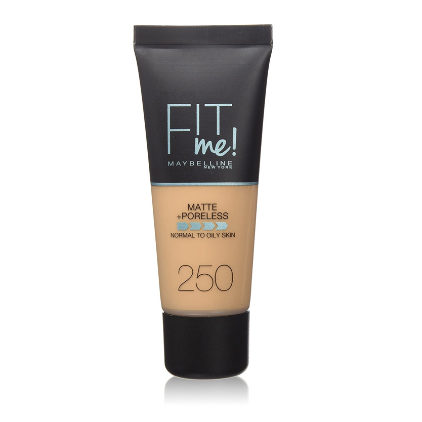 Maybelline Fit Me Matte And Poreless Foundation Sun Beige 250 30 ml