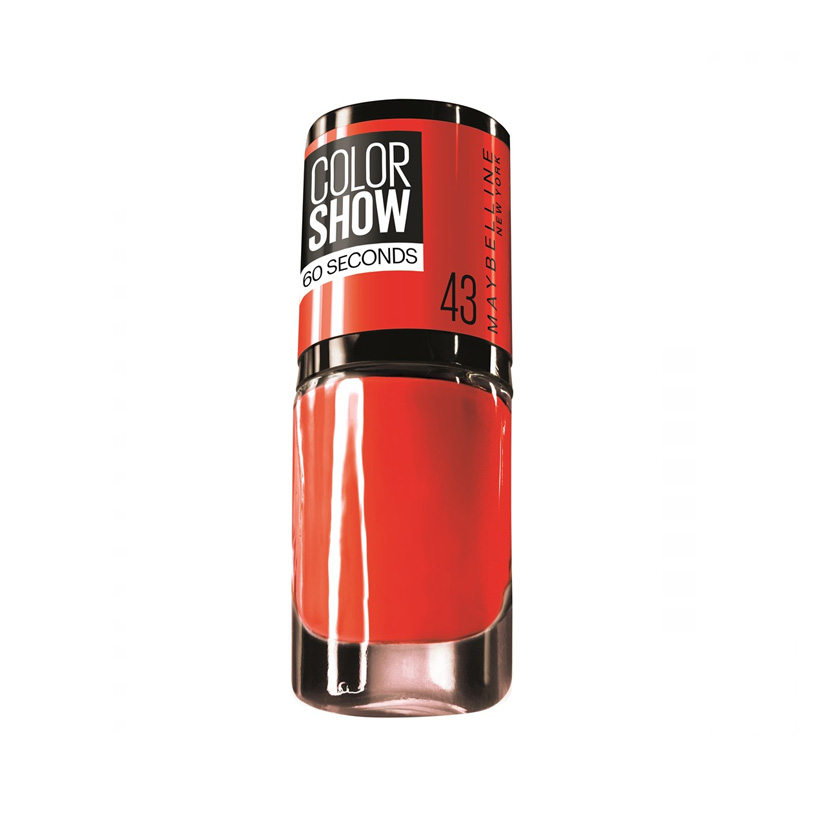 Maybelline Color Show Nail Polish Red Apple 43 7 ml