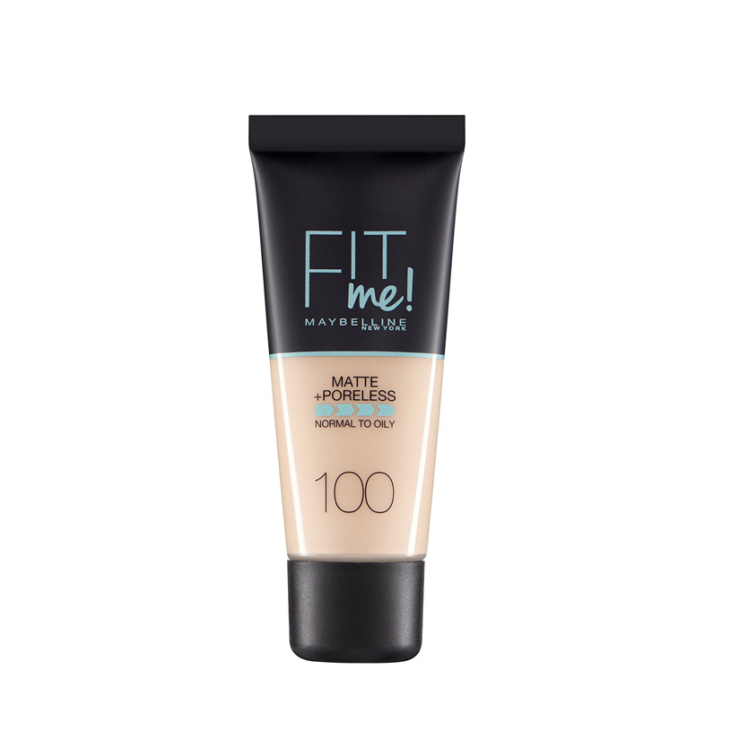 Maybelline Fit Me Matte And Poreless Foundation Warm Ivory 100 30 ml
