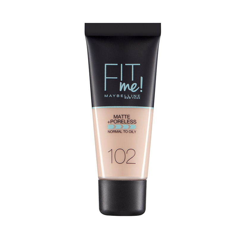 Maybelline Fit Me Matte And Poreless Foundation Fair Ivory 102 30 ml