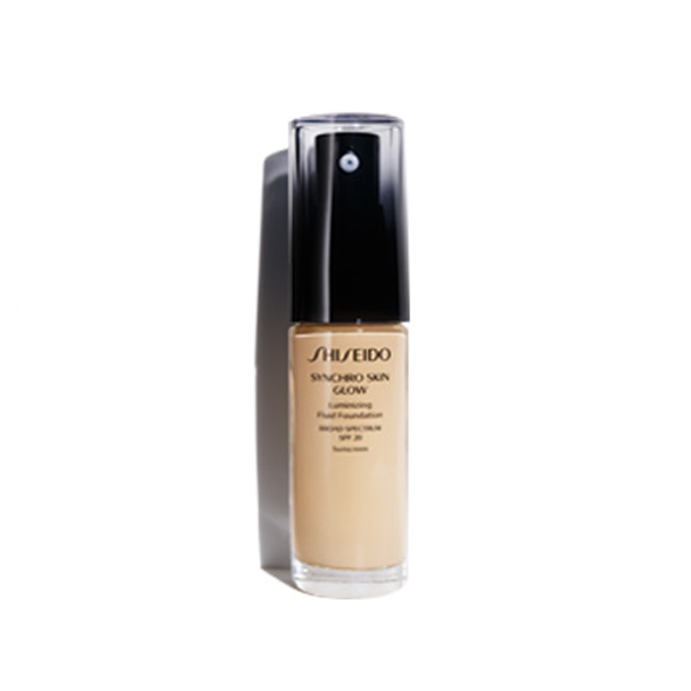 Shiseido Syncro Skin Glow Foundation 30 ml Golden 3