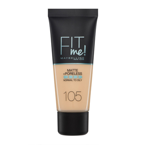Maybelline Fit Me Matte And Poreless Foundation Natural Ivory 105 30 ml