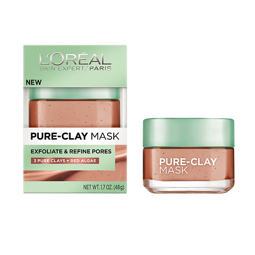 Loreal Paris Pure-Clay Mask 50 ml Exfoliate Mask