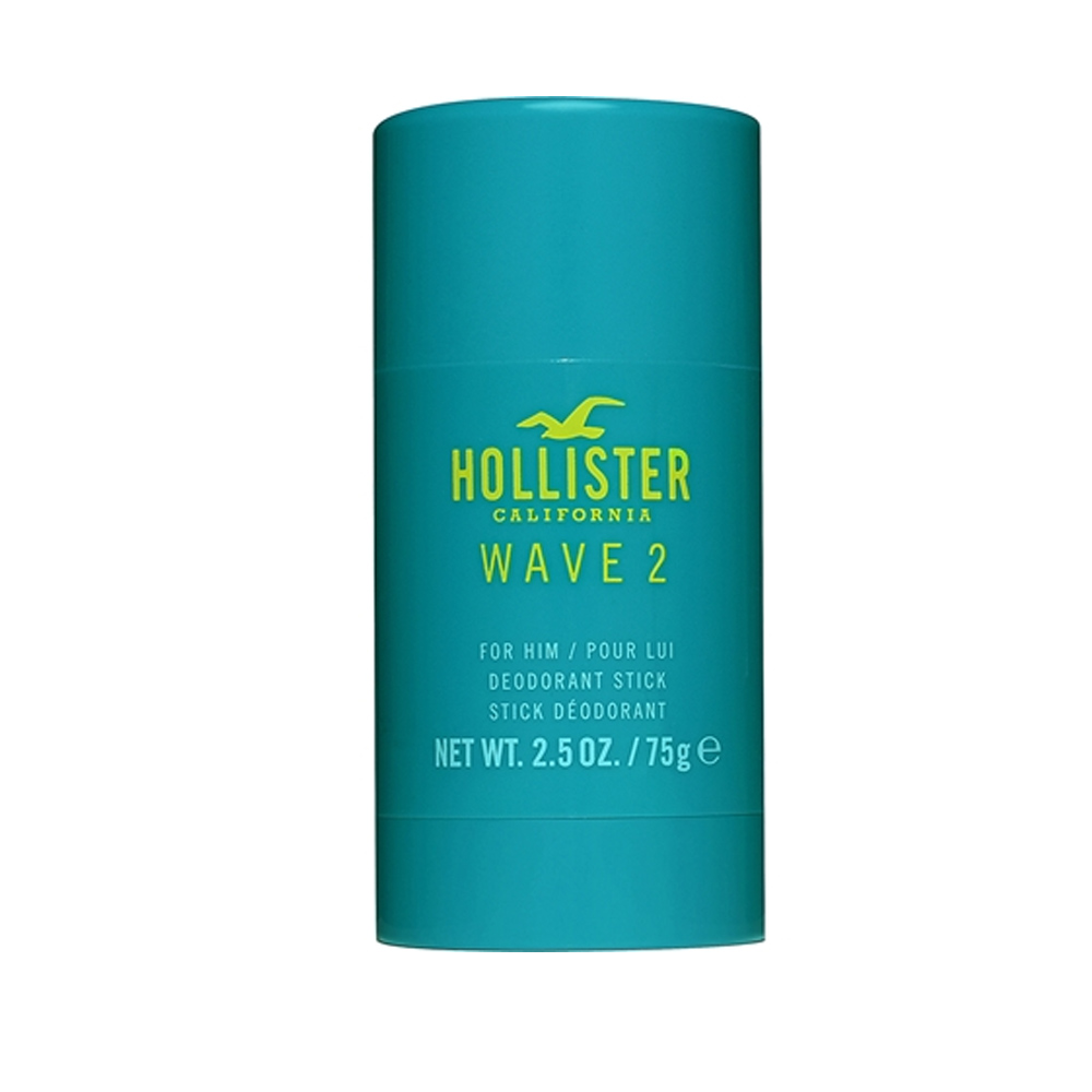 Hollister Wave 2 for Him Deodorant Stick 75g