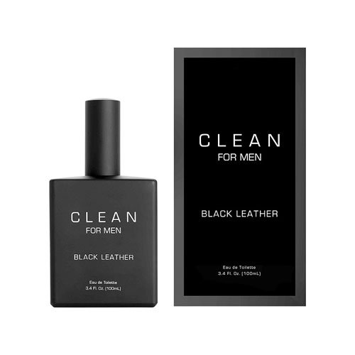 Clean For Men Black Leather EdT
