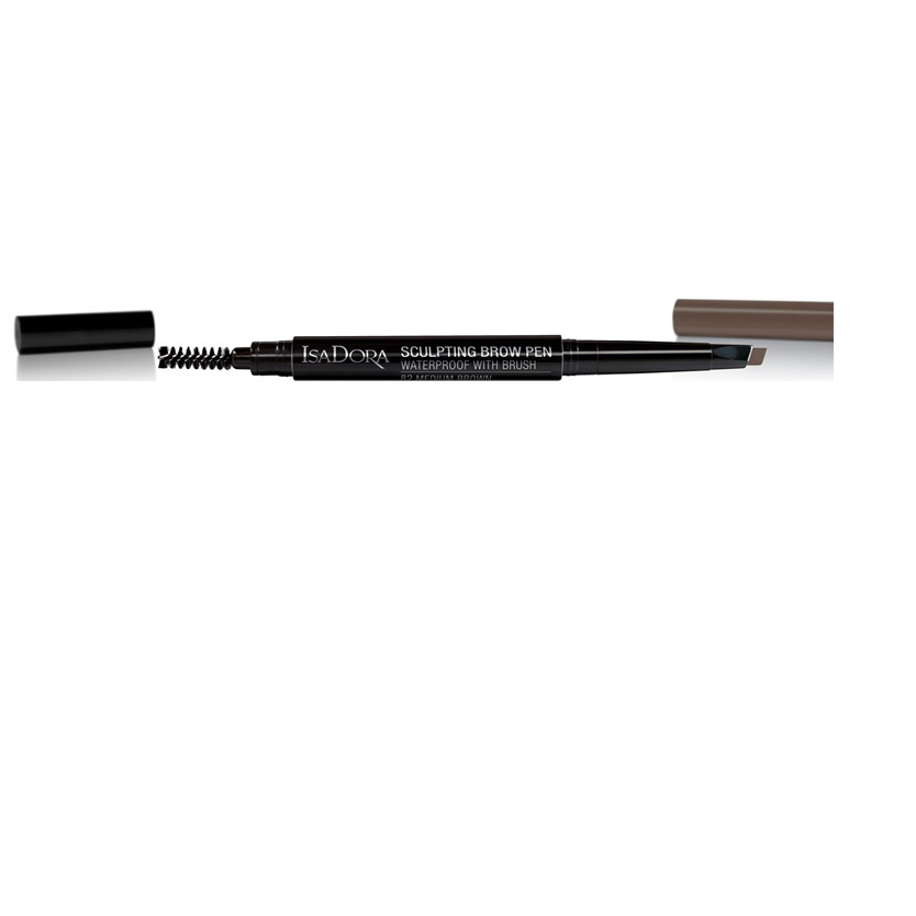 Isadora Sculpting Brow Pen 2 ml 82 Medium Brown
