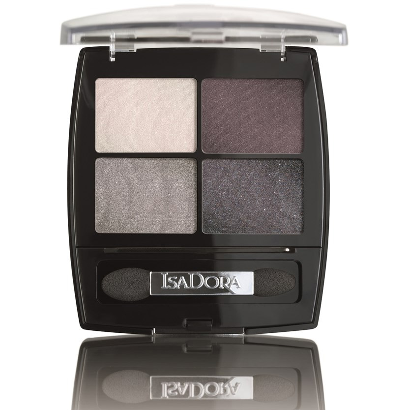 Isadora Eye Shadow Quartet 7.2g 37 Crystal Mauve
