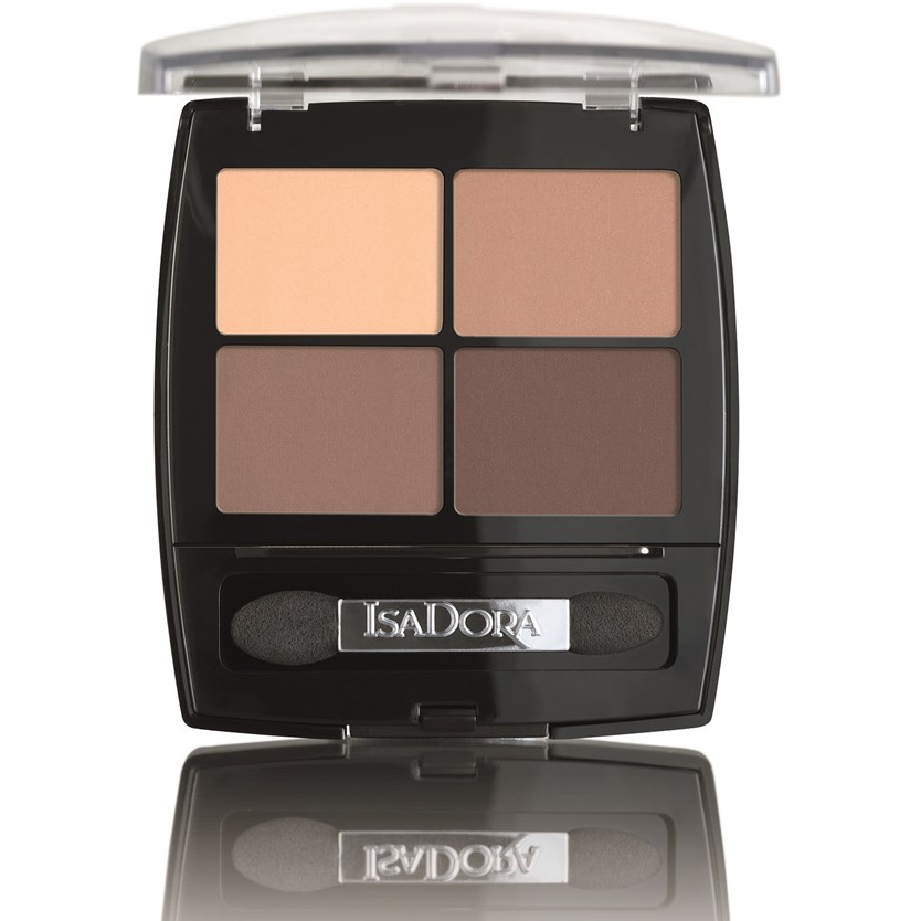 Isadora Eye Shadow Quartet 7.2g 44 Muddy Nudes