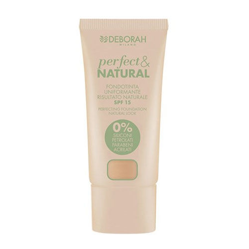 Deborah Pura Perfect & Natural Foundation 0 Fair Rose 30 ml