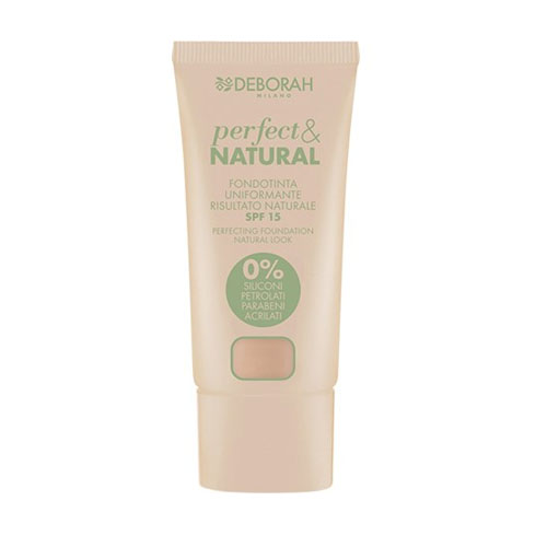 Deborah Pura Perfect & Natural Foundation 02 Light Rose 30 ml