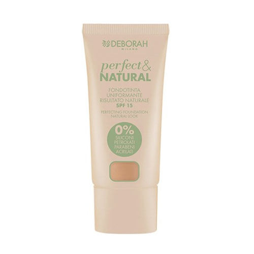 Deborah Pura Perfect & Natural Foundation 04 Sand 30 ml