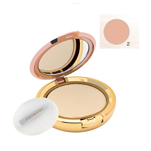 Coverderm Compact Powder Waterproof 10g Dry/Sensitive 2