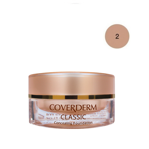 Coverderm Classic Foundation Waterproof 15 ml 2