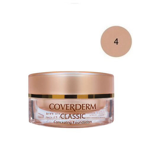 Coverderm Classic Foundation Waterproof 15 ml 4