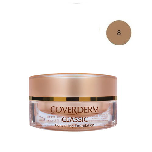 Coverderm Classic Foundation Waterproof 15 ml 8