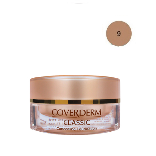 Coverderm Classic Foundation Waterproof 15 ml 9