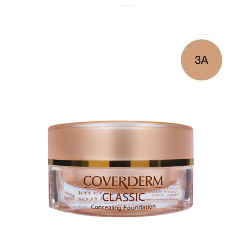 Coverderm Classic Foundation Waterproof 15 ml 3A