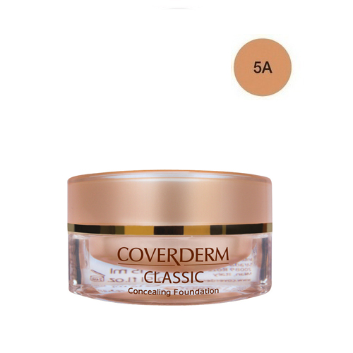 Coverderm Classic Foundation Waterproof 15 ml 5A