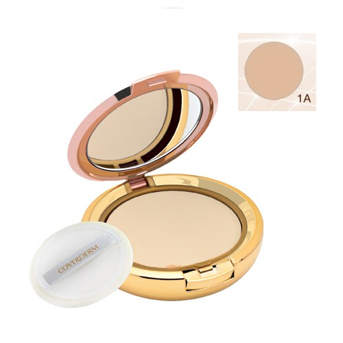 Coverderm Compact Powder Waterproof 10g Dry/Sensitive 1A