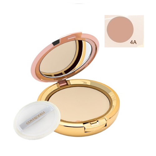 Coverderm Compact Powder Waterproof 10g Dry/Sensitive 4A