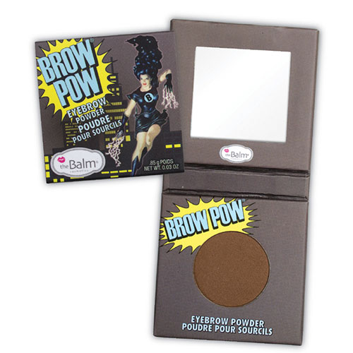 The Balm Brow Pow Eyebrow Powder Light Brown