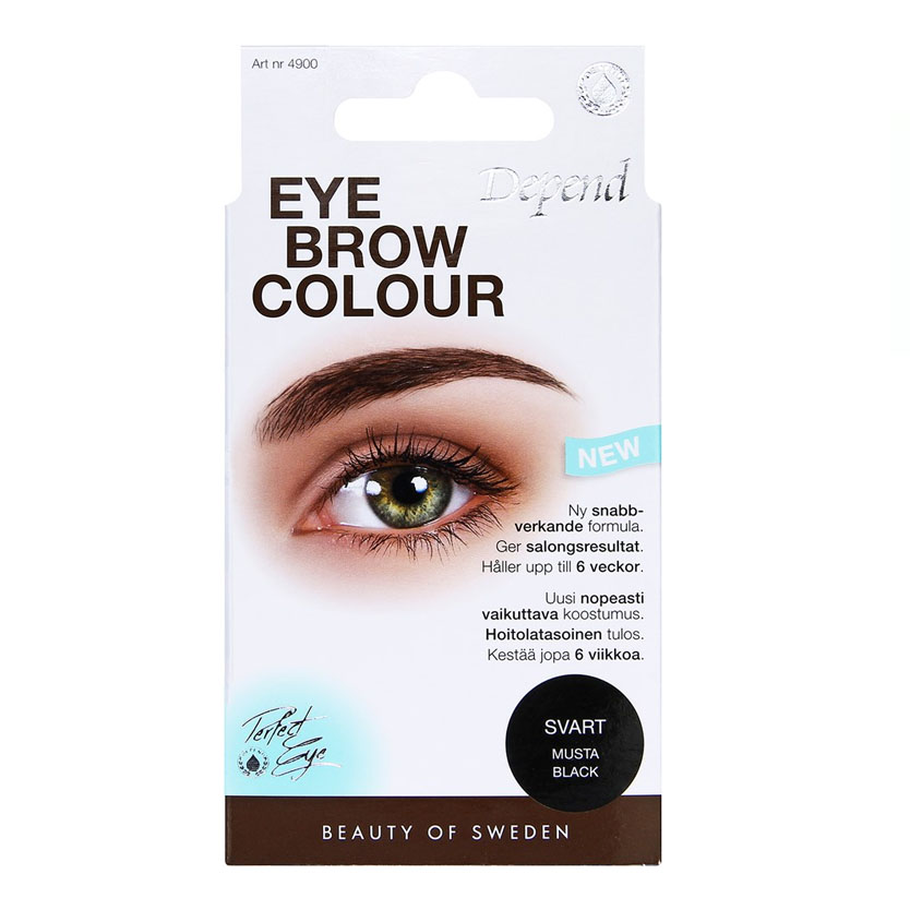 Depend PERFECT EYE Eyebrow Colour Svart