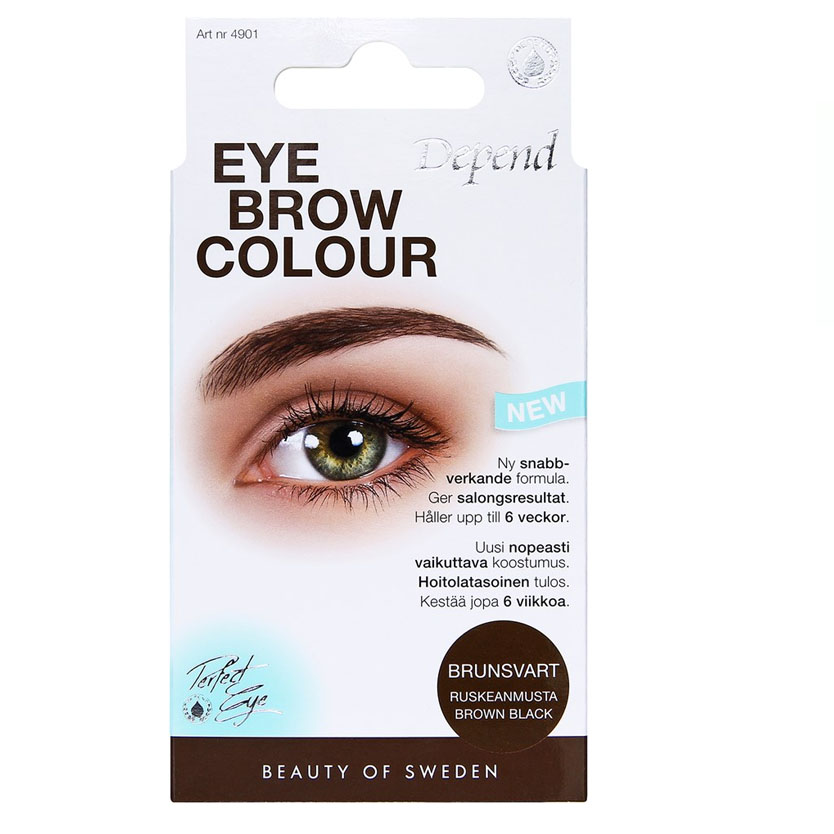Depend PERFECT EYE Eyebrow Colour Brunsvart