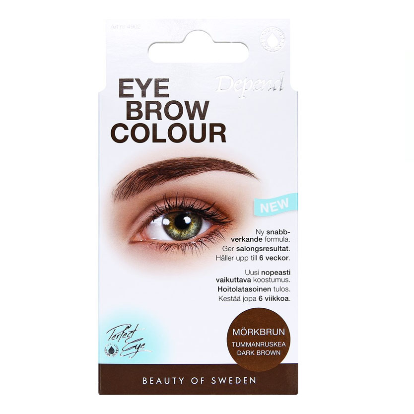 Depend PERFECT EYE Eyebrow Colour Mörkbrun