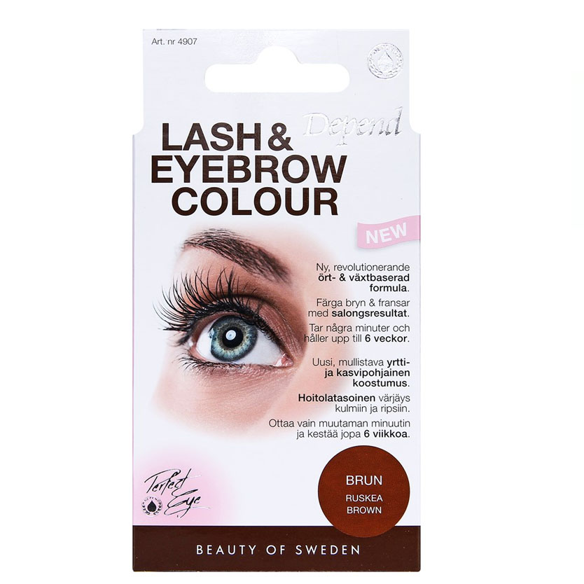 Depend PERFECT EYE Lash and Eyebrow Colour Brun