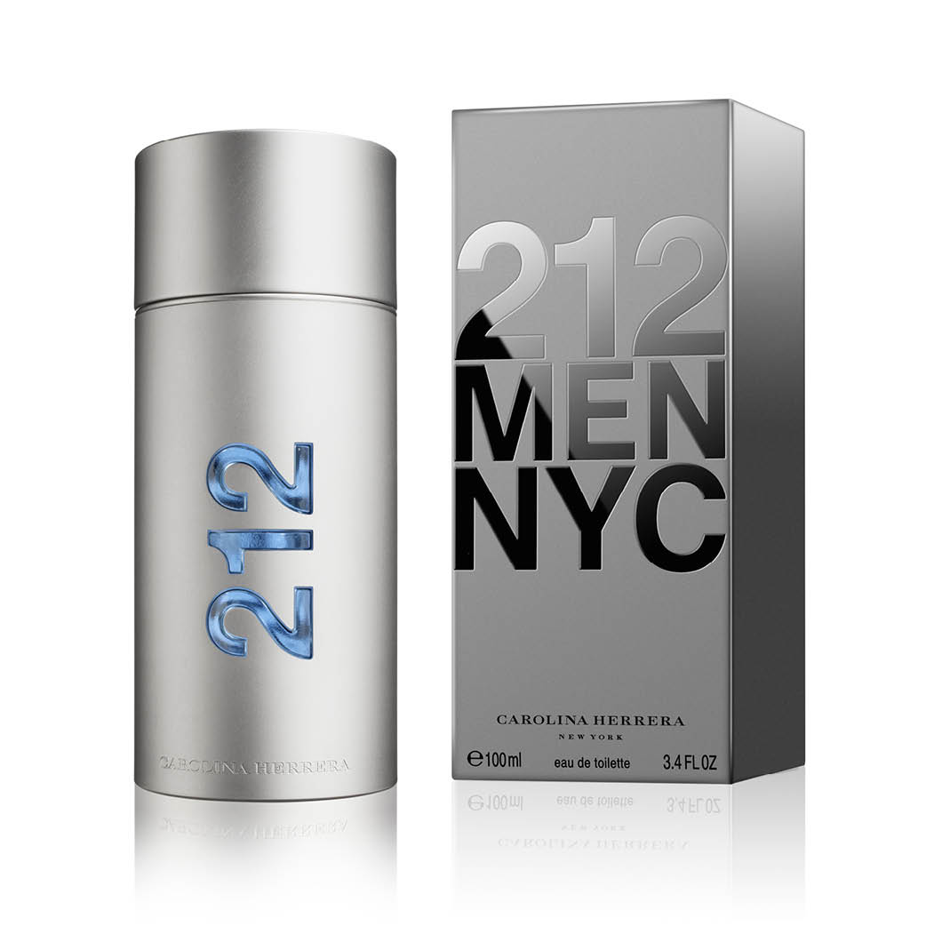 Carolina Herrera 212 Men Nyc EdT Spray 100 ml