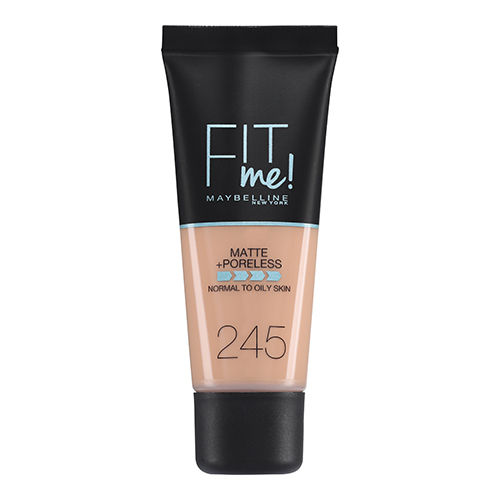 Maybelline Fit Me Matte And Poreless Foundation Classic Beige 245 30 ml