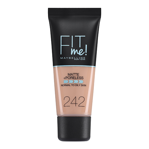 Maybelline Fit Me Matte And Poreless Foundation Light Honey 242 30 ml