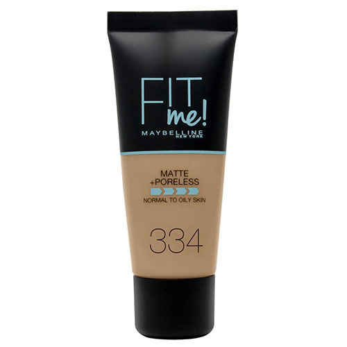 Maybelline Fit Me Matte And Poreless Foundation Warm Tan 334 30 ml