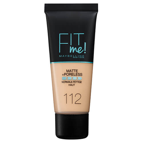 Maybelline Fit Me Matte And Poreless Foundation Soft Beige 112 30 ml