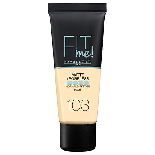 Maybelline Fit Me Matte And Poreless Foundation Pure Ivory 103 30 ml