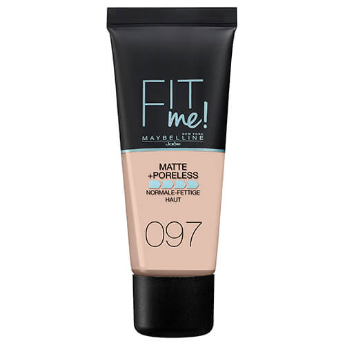 Maybelline Fit Me Matte And Poreless Foundation Natural Porcelain 97 30 ml