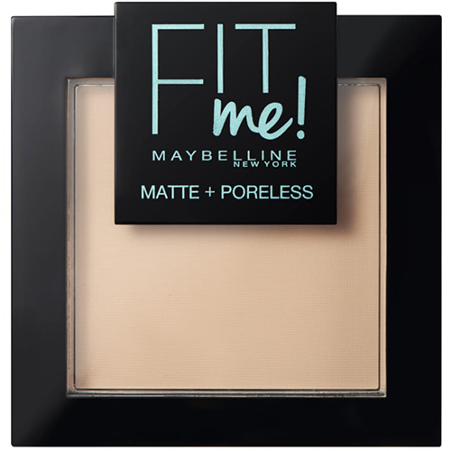 Maybelline Fit Me Matte And Poreless Powder Warm Nude 128 9g
