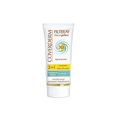 Coverderm Filteray Face Plus SPF 30 Oily/Acneic Natural 50 ml