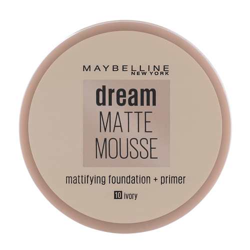 Maybelline Dream Matte Mousse Foundation Ivory 10 18 ml