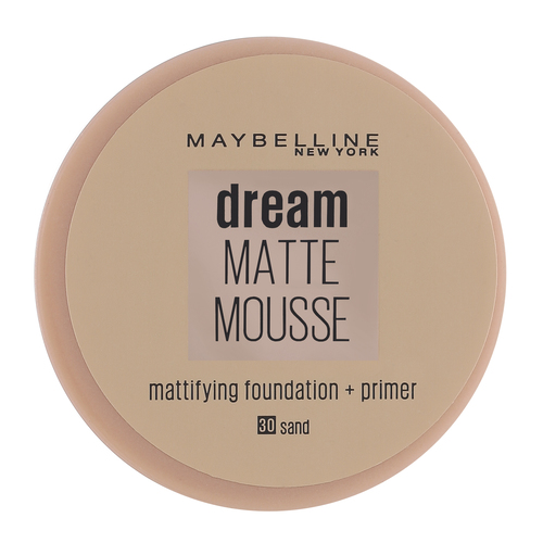 Maybelline Dream Matte Mousse Foundation Sand 30 18 ml