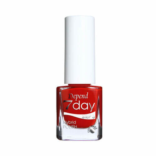 Depend 7day Step 3 Hybrid Polish Looking Striped 7208 5 ml